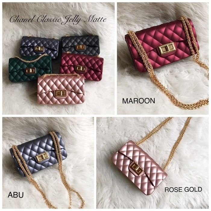 Jual Tas Chanel Classic Mini Jelly Matte Channel Import 18cm Murah ... ea330e7237