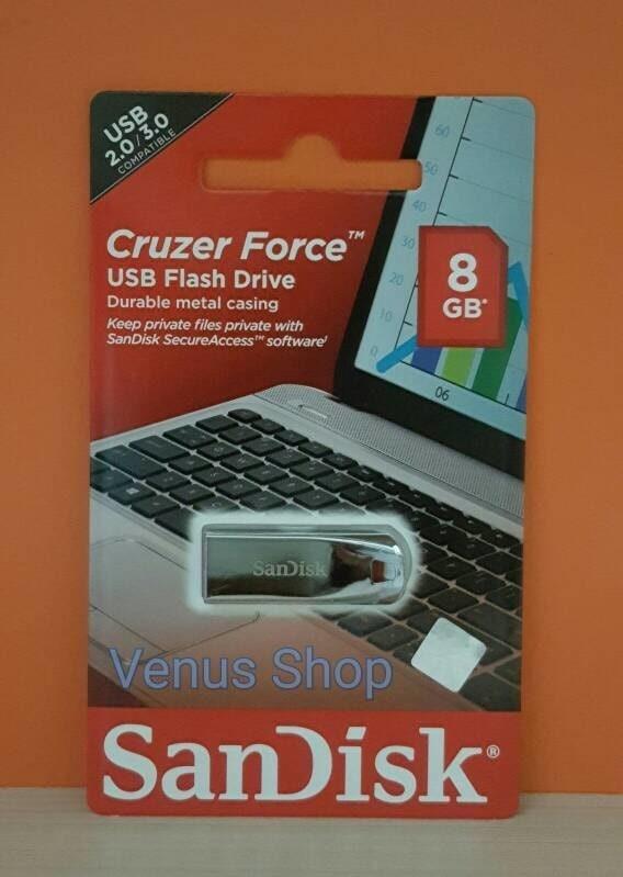 SANDISK FLASH DISK 8GB CRUZER FORCE CZ71 / USB FLASH 8 GB CZ 71