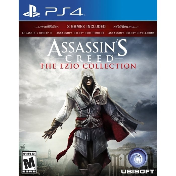 Jual Best Seller Ps4 Assassins Creed The Ezio Collection Reg 3