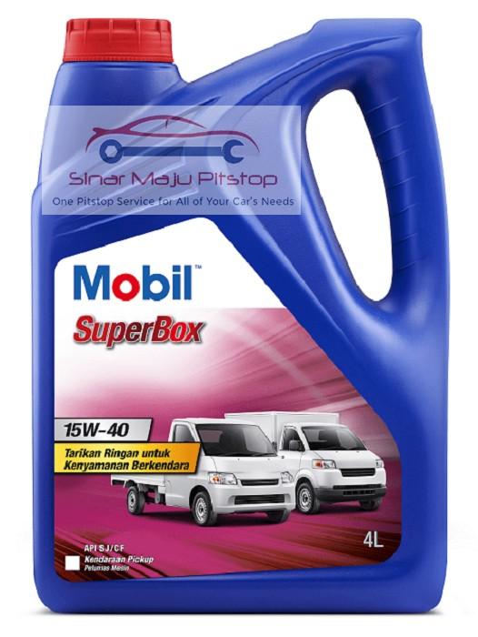 Exxon Mobil SuperBox 15W 40