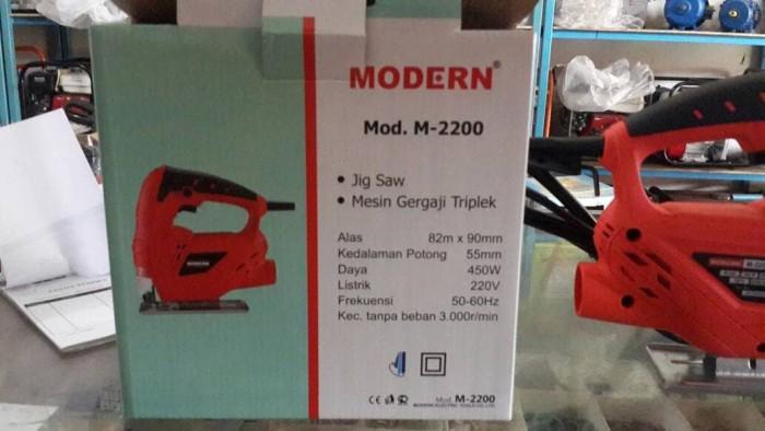 harga Mesin jig saw potong kayu gergaji kayu modern  m-2200 Tokopedia.com