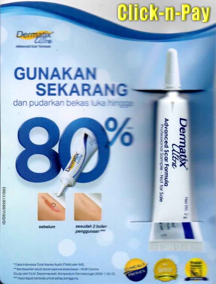 harga Dermatix ultra gel 2 gr advanced scar formula untuk bekas luka Tokopedia.com