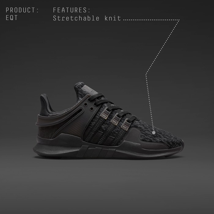 low priced fe3a3 3b517 Jual ADIDAS EQT SUPPORT ADV 91/16 - TRIPLE BLACK / BLACK FRIDAY ORIGINAL! -  Kota Batam - wristwearid | Tokopedia