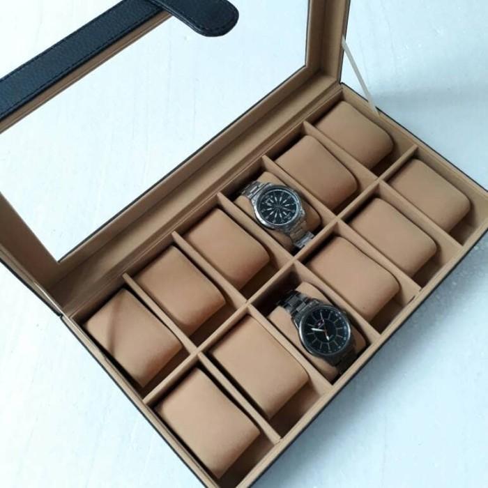 Jogja Craft White Floral Watch Box Tempat Jam Kotak Jam Tangan Isi Source · Tempat Jam