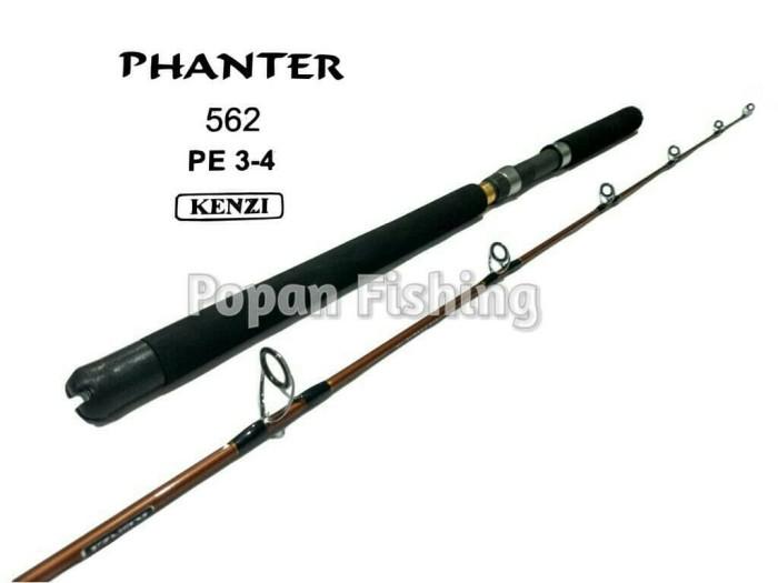 harga Joran Kenzi Panther 562 Pe 3 - 4 Jigging Rod Tokopedia.com