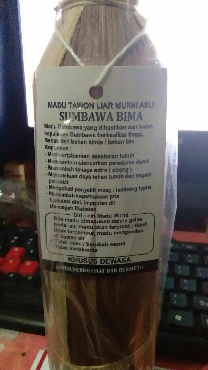 Promo Madu Hitam Sumbawa Termurah 2018 Tasbih Digital Z141 Jual Tawon Asli Maktect Tokopedia