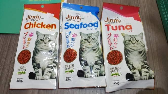 Jual Snack Kucing Jerhigh Jinny 35gr / Cat Treats / Cat Snack - DKI Jakarta  - Boss Petshop | Tokopedia
