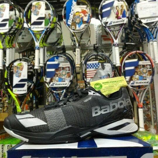 harga Sepatu tenis babolat jet all court black/ sepatu babolat jet ac ori Tokopedia.com