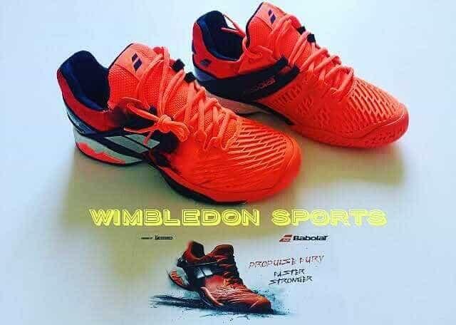 harga Sepatu tenis babolat fury/ sepatu babolat propulse fury all court red Tokopedia.com