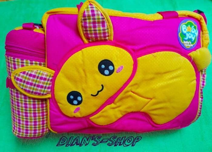 harga Tas bayi tempat botol bunny besar/tas baby joy bjt 1017/tas breanded Tokopedia.com