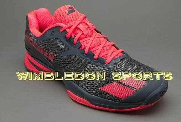 harga Sepatu tenis babolat jet all court grey red/ sepatu babolat jet ac ori Tokopedia.com