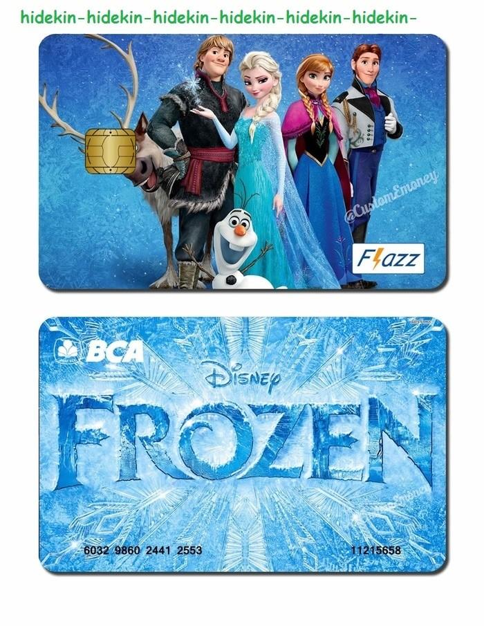harga Kartu bca flazz saldo 40 rb frozen anna elsa custom design Tokopedia.com