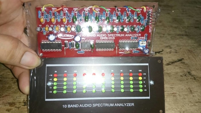 Jual Kit spectrum analyzer 10band mini - Jakarta Barat - KIT AUDIO  AMPLIFIER | Tokopedia