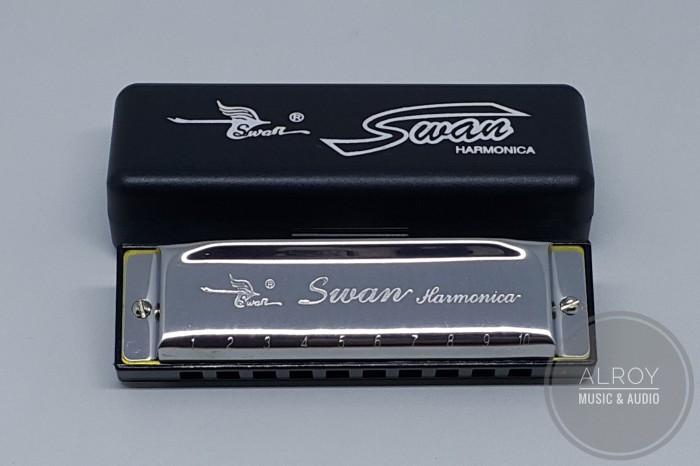 harga Harmonika / harmonica swan nada a 10 lubang Tokopedia.com
