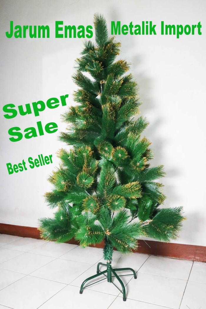 harga Pohon natal tinggi : 12 meter jarum emas import sale Tokopedia.com