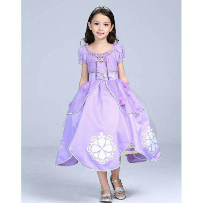 harga Baju anak gaun dress kostum princess sofia / sofiya Tokopedia.com