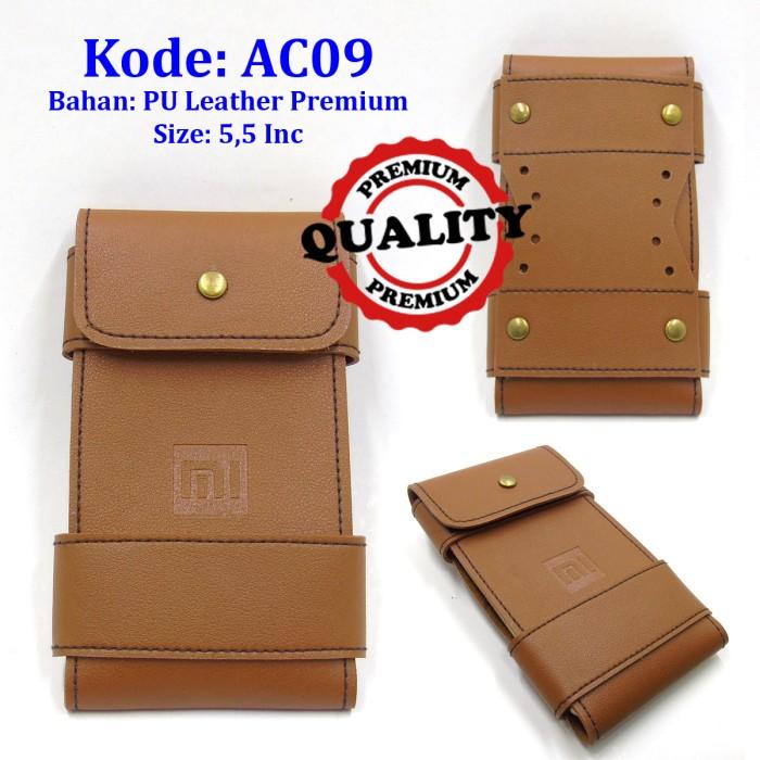 harga Casing hp xiaomi ac09   leather case   tas sarung hp kulit   hanphone Tokopedia.com