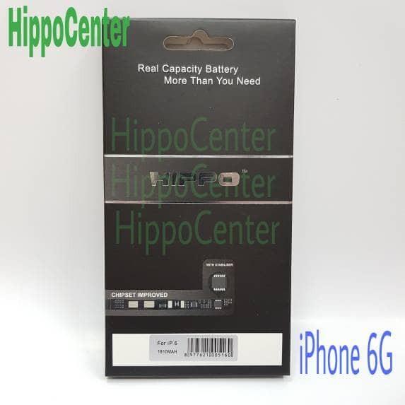 Foto Produk Hippo Baterai Ori iPhone 6 1810 mAh dari HippoCenter