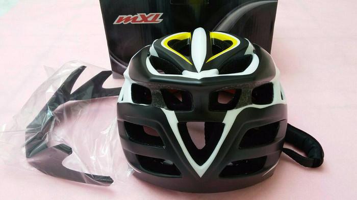 Jual Helm Sepeda MTB MXL SV27 Kuning Helmet Bicycle
