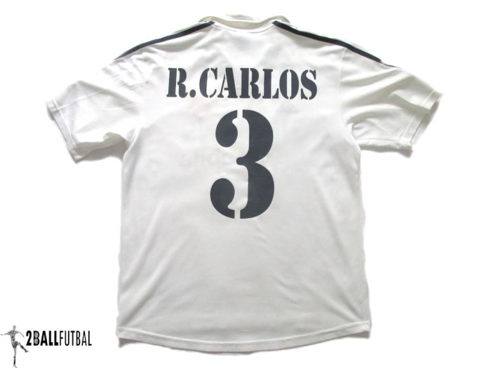meet 64ab1 473e9 Jual 2002-2003 REAL MADRID HOME CENTENARY ORIGINAL JERSEY ROBERTO CARLOS #3  - DKI Jakarta - 2ballfutbal | Tokopedia