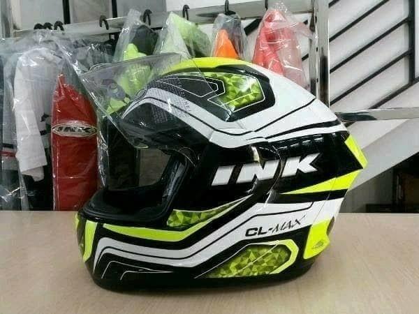 Helm ink cl max seri 5 yellow fluo clmax fullface ...