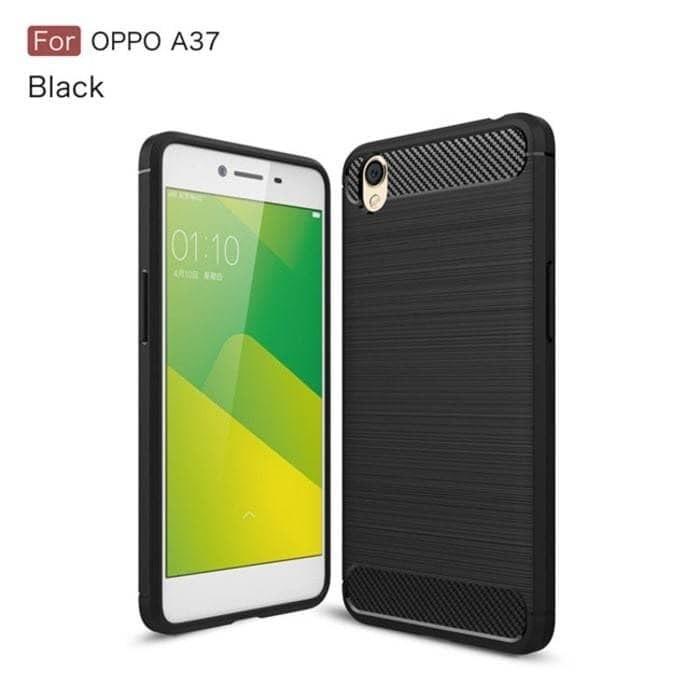 Soft Case Carbon Fiber Oppo Neo 9/A37 New Case Carbon/Soft