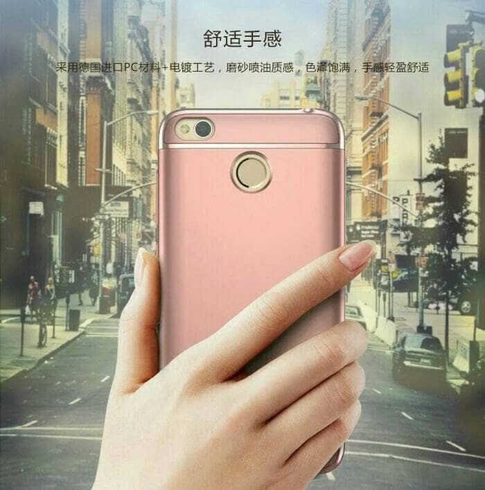 IPAKY 3 IN 1 ELECTROPLATING HARD CASE CASING XIAOMI REDMI 4X 4X PRIME
