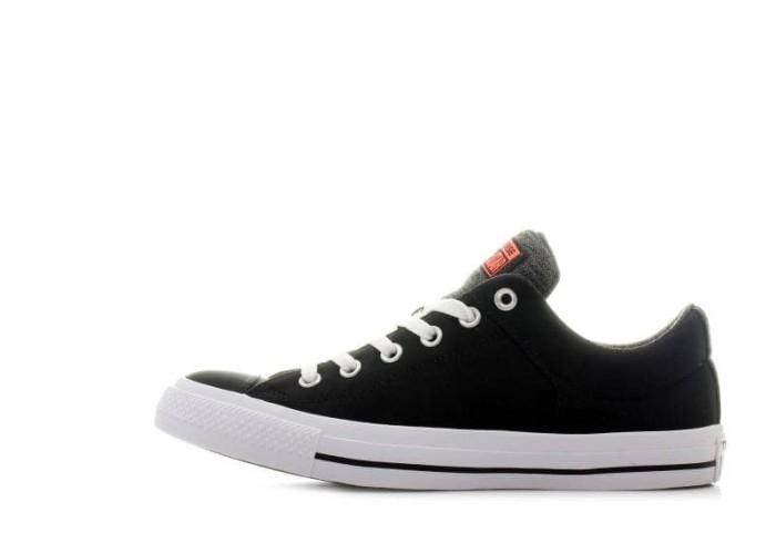 3ef7bfcdf2d4 Sepatu CONVERSE Chuck Taylor All Star High Street OX Black (ORIGINAL)