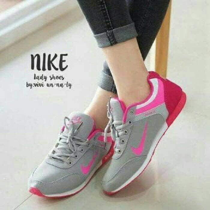 harga Sepatu olah raga wanita kets nike sport casual sneakers kuliah Tokopedia.com