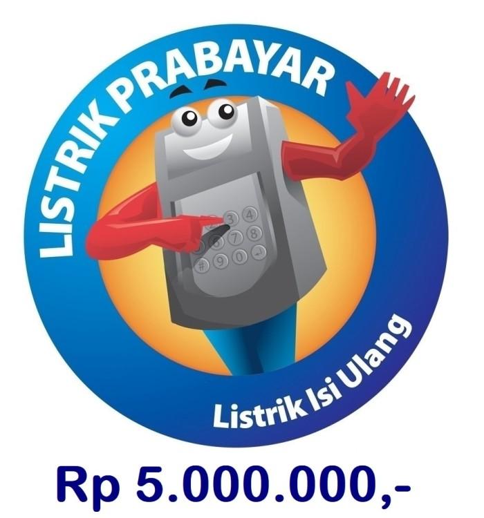 harga [termurah] token listrik pln prabayar 5.000.000 promo kk Tokopedia.com