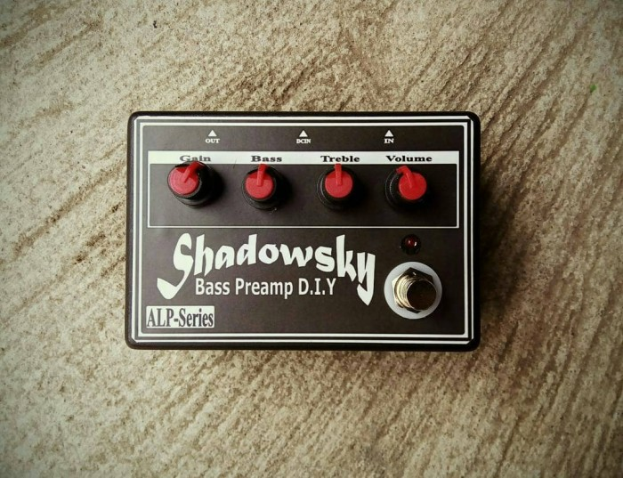 harga Shadowsky Bass Preamp Stompbox Tokopedia.com