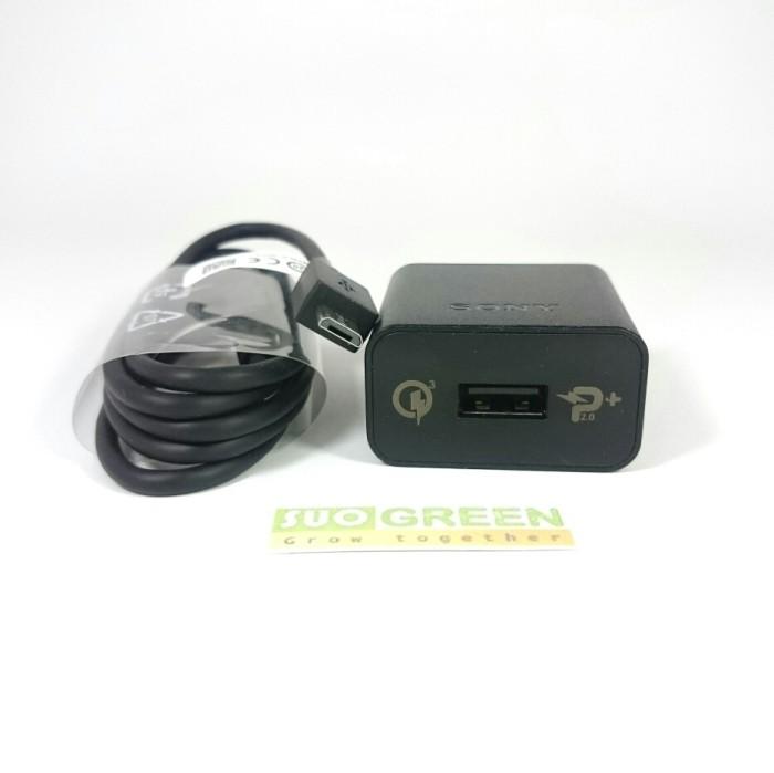 [ORIGINAL] Sony Quick Charger Sony UCH12 Original QC.3 PumpExpress 2