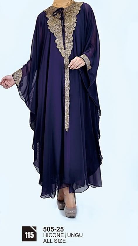 Gamis Muslimah Casual Wanita 505-25