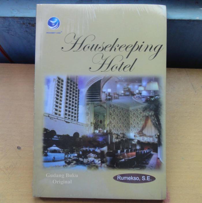 harga Buku housekeeping hotel Tokopedia.com