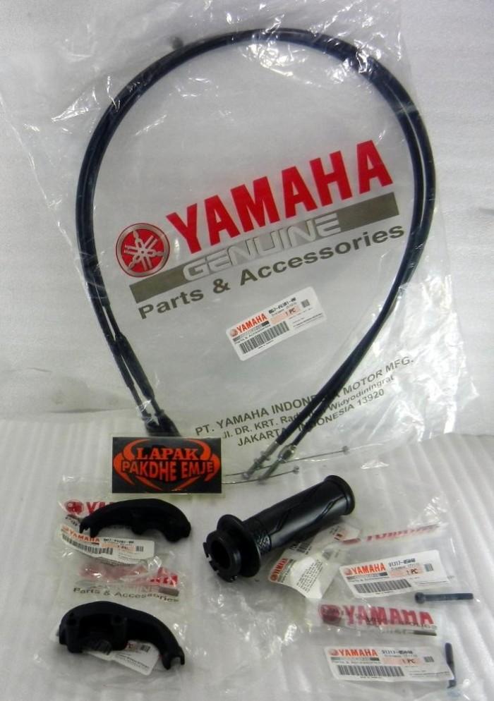 harga Gas spontan yamaha xabre original double cable yamaha genuine part l Tokopedia.com