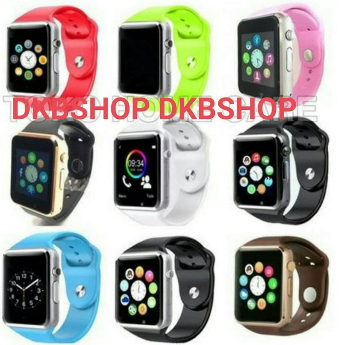 harga 03 - u10 / a1 smart watch jam tangan iwatch full colour handphone Tokopedia.com