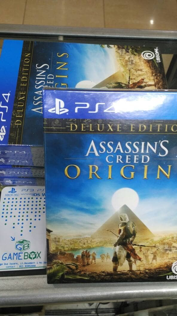 harga Assassin's creed origin ps4 deluxe edition reg 3 Tokopedia.com