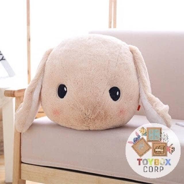harga Boneka kelinci kepala berbulu / fur head rabbit brown Tokopedia.com