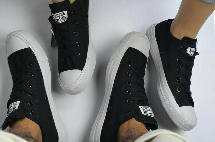 Jual Sepatu Casual Converse All Star Polos Unisex Original Import ... 4e8fb88251