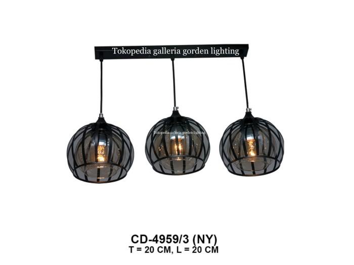 Jual Lampu Hias Gantung Dekorasi Ruang Tamu Meja Makan Minimalis 4959 3 Dki Jakarta Galleria Gorden Lighting Tokopedia