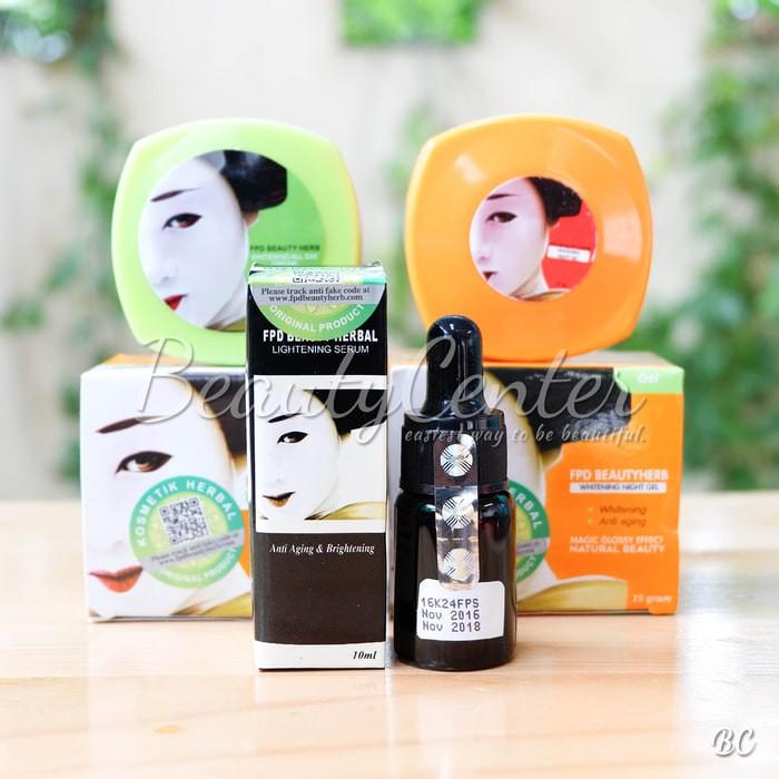 SERUM Paket Komplit FPD / Paket Magic Glossy (Cream Siang + Malam +. Category