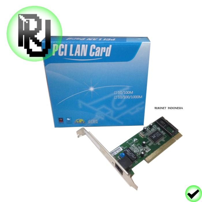 harga Pci lan card / kartu ethernet pc tambahan / network card adapter Tokopedia.com