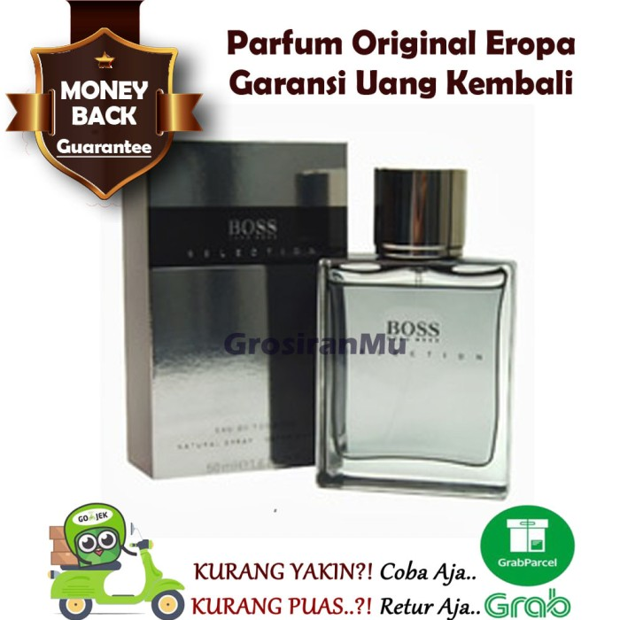 Jual Bos Parfum Pria Original Hugo Boss Selection Ori Reject Pemikat