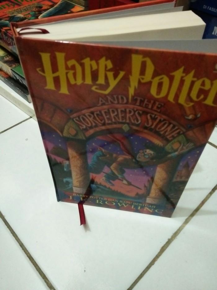 harga Novel harry potter hardcover jilid 1 harry potter dan batu bertuah Tokopedia.com