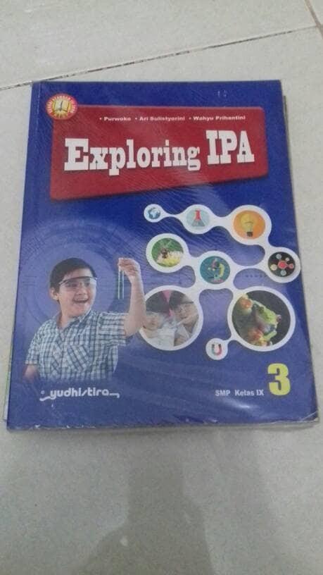 Foto Produk Buku IPA kls 3 SMP Yudistira dari iinbuku