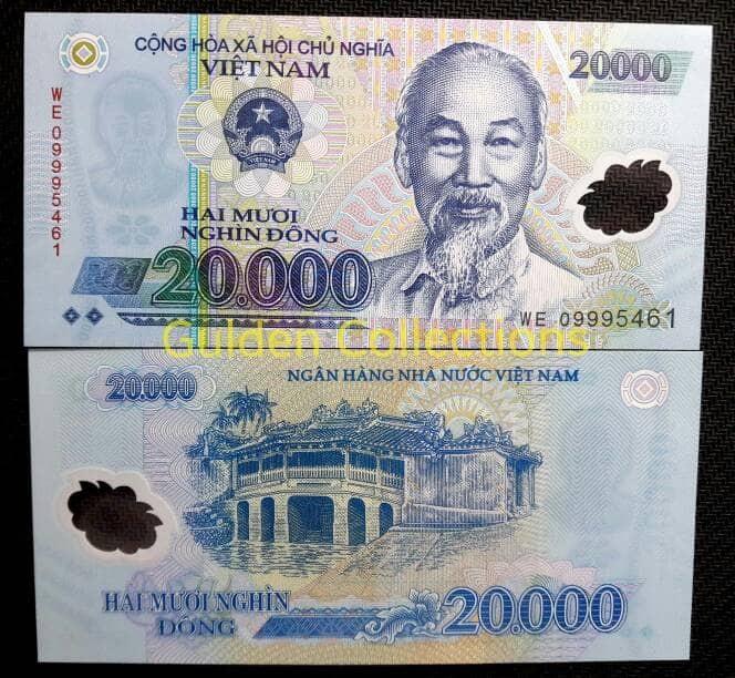 harga Uang kuno luar negri 20000 dong vietnam polymer uang plastik unc Tokopedia.com