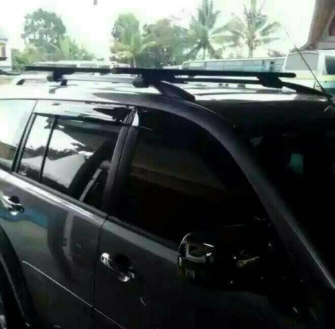 harga Crossbar / sport rack / roof rack jepit roof rail / rel rush terios Tokopedia.com