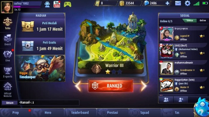 Jual Top Up 4000 Diamond Mobile Legends Illegal Ml Murah Store