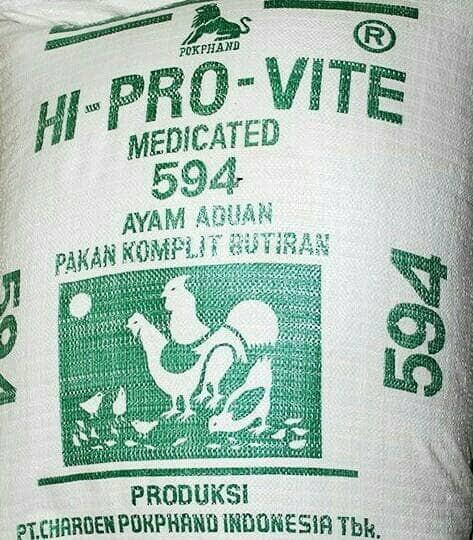Jual Pakan Ayam Aduan Jago 594 1kg Kota Surabaya Rois