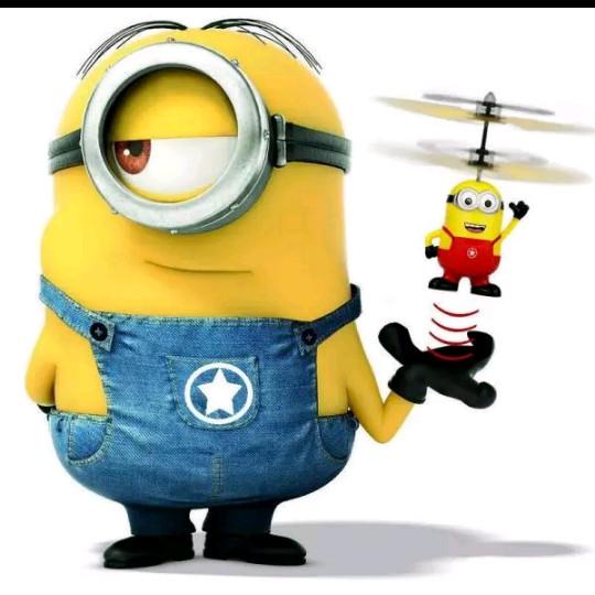 Flying Minion Toy Mainan Anak Terbang